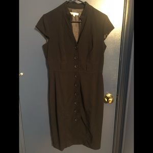 Navy Blue Button up dress